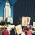 33 March on LA City Hall