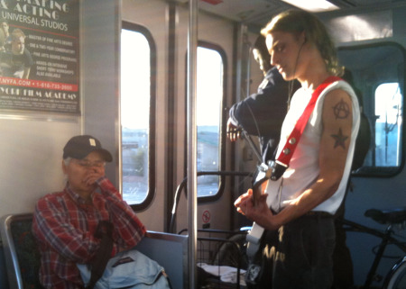 Copy of Subway Guitarist