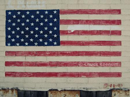 9-11 Flag Chuckle