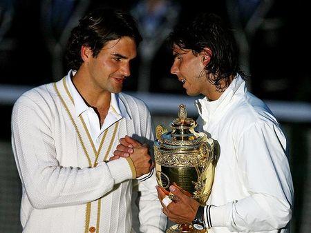 Rafa Roger 08 Wimbledon Final