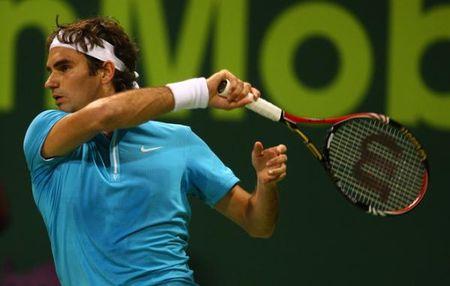 Roger Federer Qf Win Doha 10