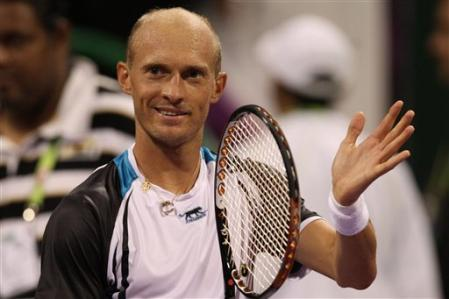 Nikolay Davydenko Semi Win Doha 10