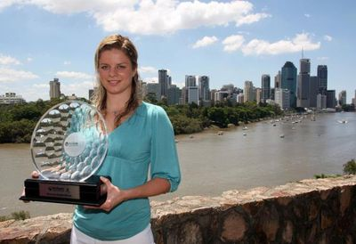 Kim Clijsters Brisbane Win
