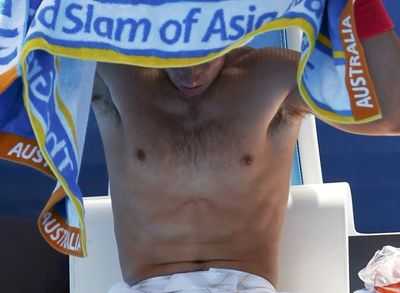 Rafael Nadal 2nd Round AO10 Win
