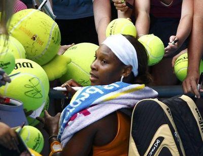 Serena Williams 2nd Round AO10 Win