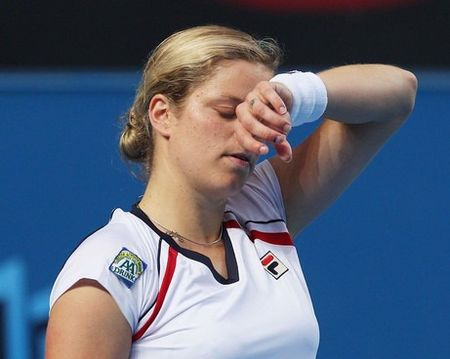 Kim Clijsters 3rd R AO10 Loss 2