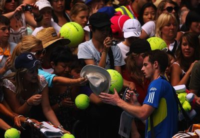 Andy Murray 3rd R AO10 Win
