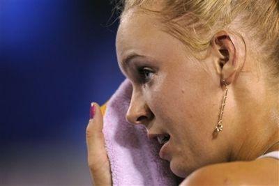 Caroline Wozniacki 3rd R AO10 Win ap