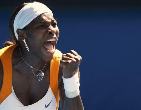 Serena Williams SF AO10 Win r