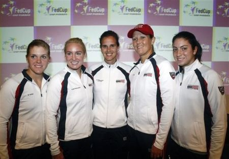 FedCup US Team Feb.10 ap