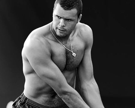 Jo-Wilfried Tsonga Black and White