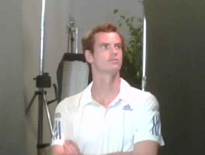 Andy Murray on Gimels Twitter