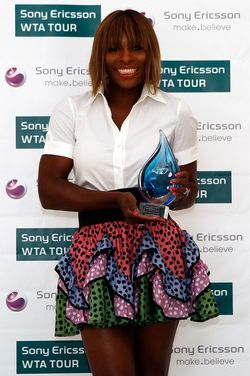 Serena Williams SEWTA.10 Award g