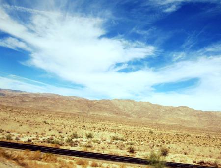 01 Blue Desert Skies