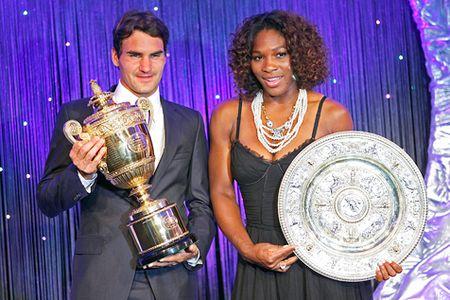 Federer Serena - 2009 W Champs