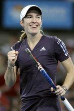 Justine Brisbaine 1st Round Winner