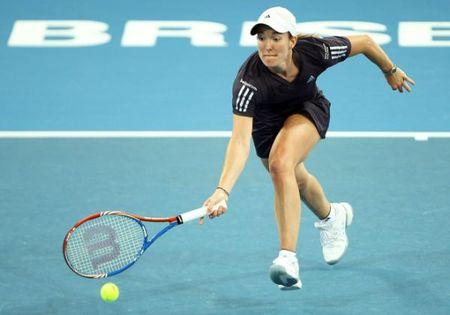 Justine Henin Brisbane 10 Qf Win