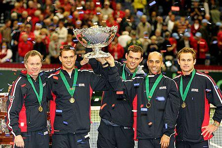 US Davis Cup Win