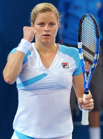 Kim Clijsters Semi Brisbane 10 Win