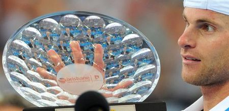 ANDY Roddick Wins Brisbane 10
