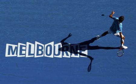 Roger Federer 1st Round AO10 Win