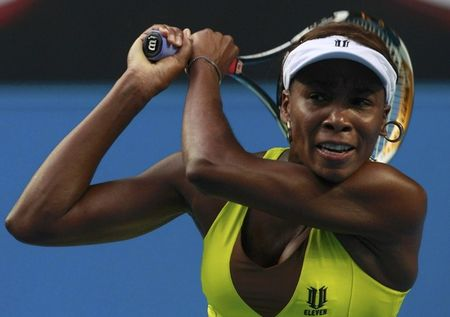 Venus Williams 1st R AO10 Win