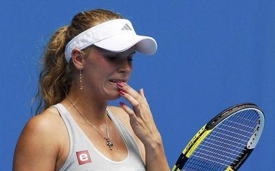 Caroline Wozniacki 2nd R AO10 Win