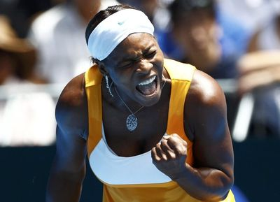Serena Williams 3rd R AO10 Win r