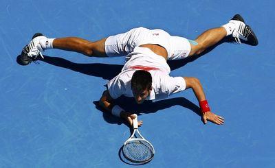Novak Djokovic 4th R AO10 Win r