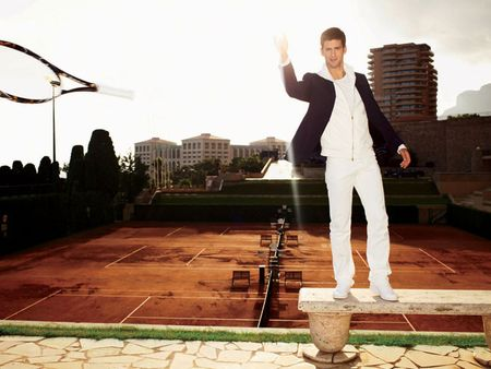 Novak Djokovic Vogue