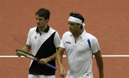 Tommy Robredo and Feliciano Lopez Dubs in Rotterdam g 2
