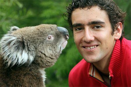 Marin Cilic and Koala