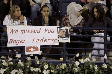Roger Federer Missed in Dubai r