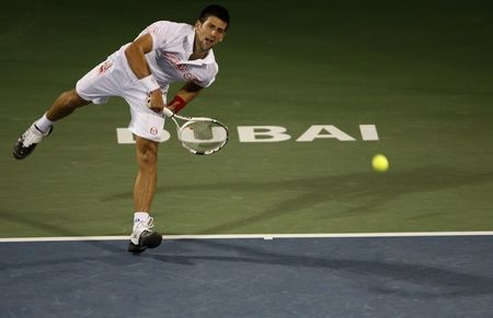 Novak Djokovic Sf Win Dubai.10 r