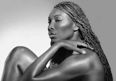 Venus Williams B&W