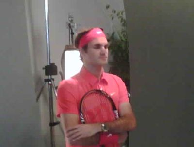 Roger Federer on Gimels Twitter