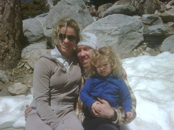 Kim Clijsters and Family Snow IW.10