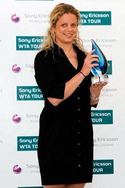 Kim Clijsters SEWTA.10 Award g