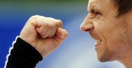 Robin Soderling Qf Win Barcelona.10 ap