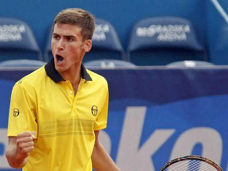 Marco Djokovic 1st R Loss Belgrade.10