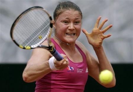 Dinara Safina 2nd R Loss Rome.10 ap