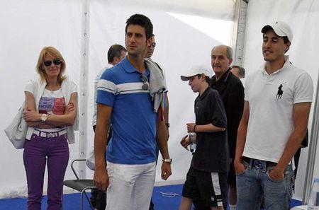 Novak Djokovic Tours Belgrade.10 Grounds 1
