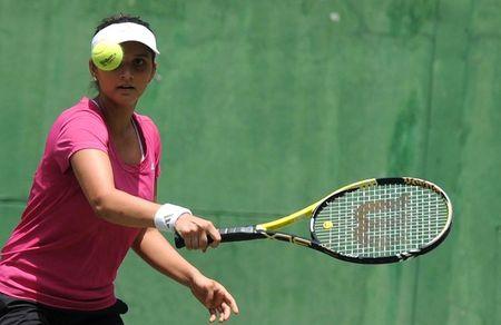Sania Mirza Practice Session 1 g