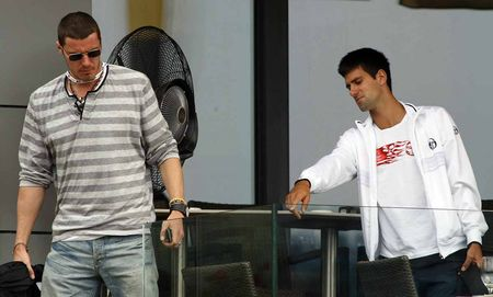 Novak Djokovic Marat Safin Hangin Belgrade.10 1
