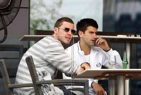 Novak Djokovic Marat Safin Hangin Belgrade.10 2