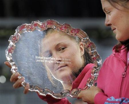 Dinara Safina Wins Marid.09 ap
