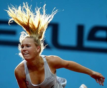 Caroline Wozniacki 2nd R Win Madrid.10 g