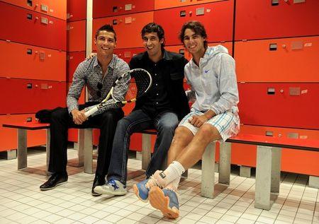 Rafael Nadal Cristiano Ronaldo Raul Gonzalez Madrid.10 1 g