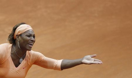 Serena Williams 3rd R Loss Madrid.10 r
