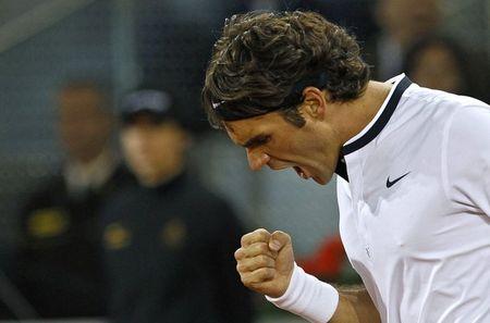 Roger Federer Qf Win Madrid.10 r